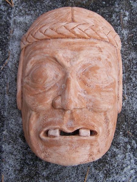 ceramika - maska aztecka